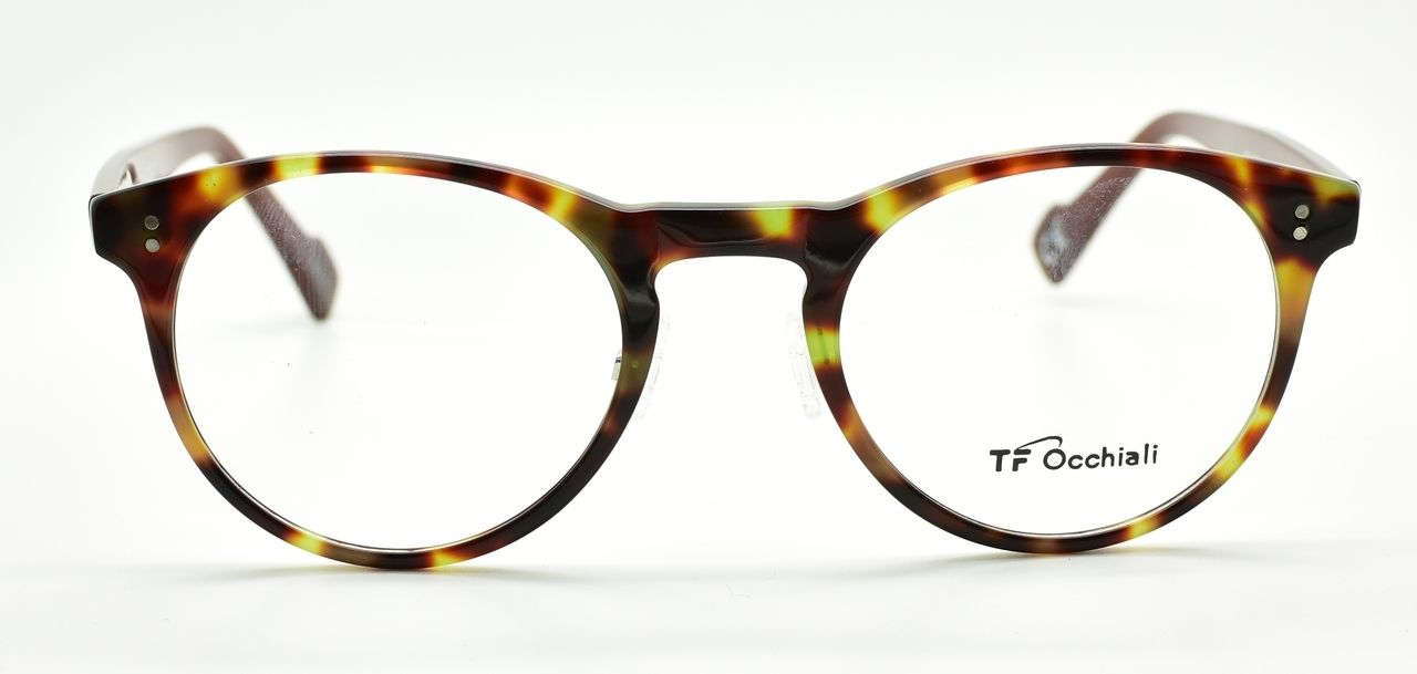 The Old Glasses Shop - TF OCCHIALI 1318 Retro Panto Shaped Glasses ...
