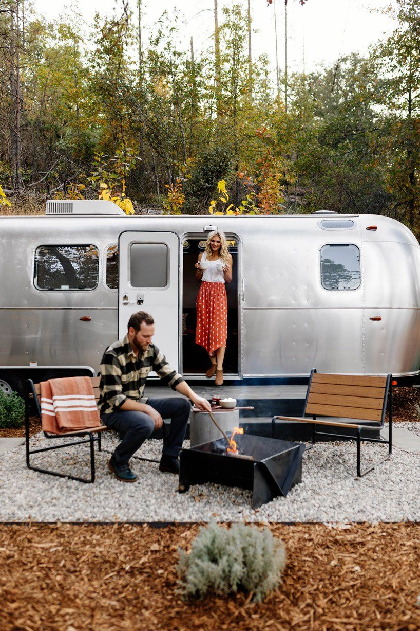 autocamp's luxury airstream trailers bring style to