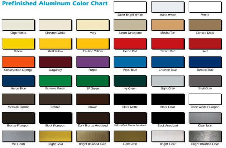 Colors Aluminum Aluminum Sheets Color