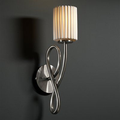 Justice Design Group Por 8911 Limoges Capellini Wall Sconce