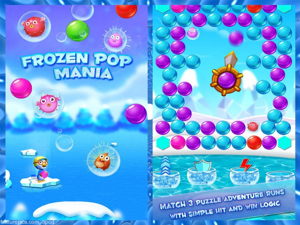 https://flic.kr/p/LKunQv | FrozenPop7 | Match 3 #popbubble in #classicbubbleshooter game runs with simple hit and win logic!! To More about Frozen Pop : Bubble Shooter for free go to: play.google.com/store/apps/details?id=com.vimapgamestudio...