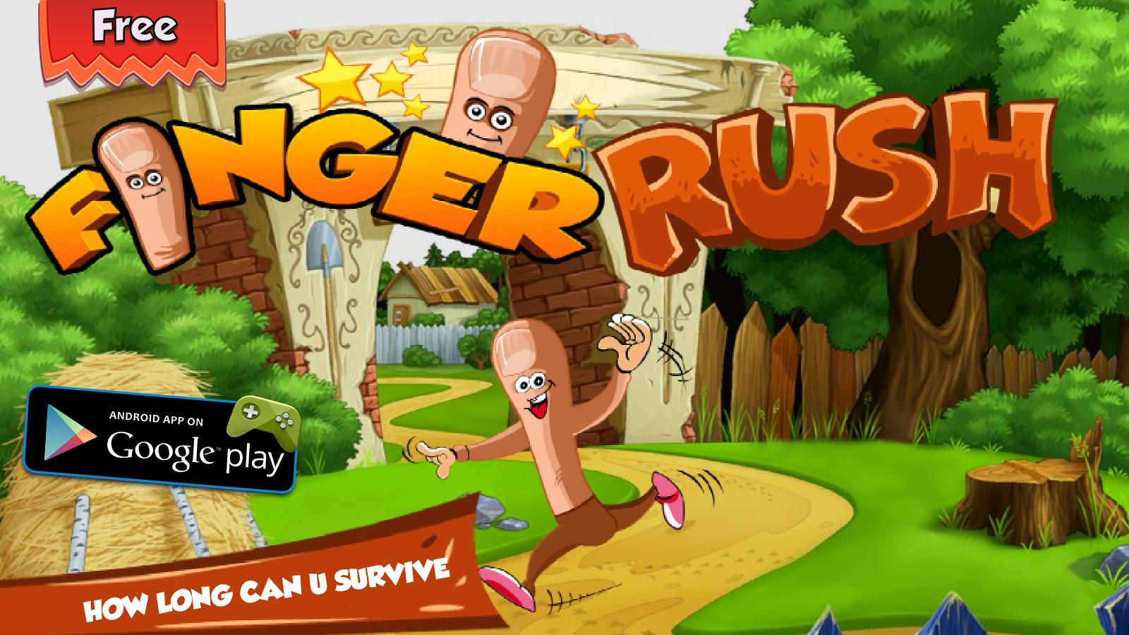 finger rush 1600*900 Mobile design, Android apps, App