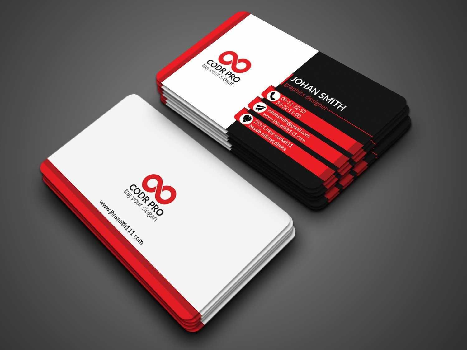 Professional Business Card Design In Photoshop Cs6 Tutorial
