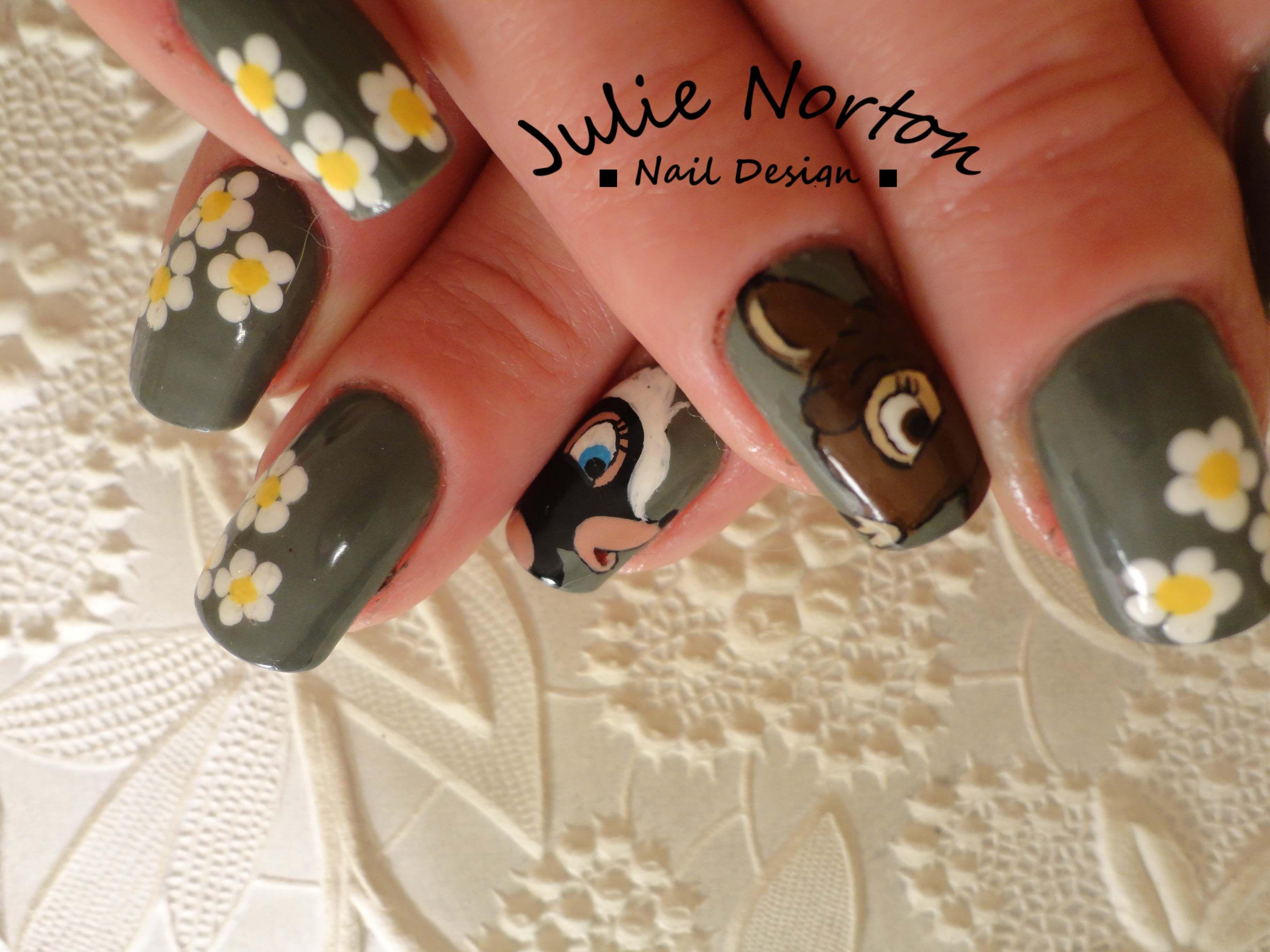 Bambi Nails | Hand to Toe | Pinterest