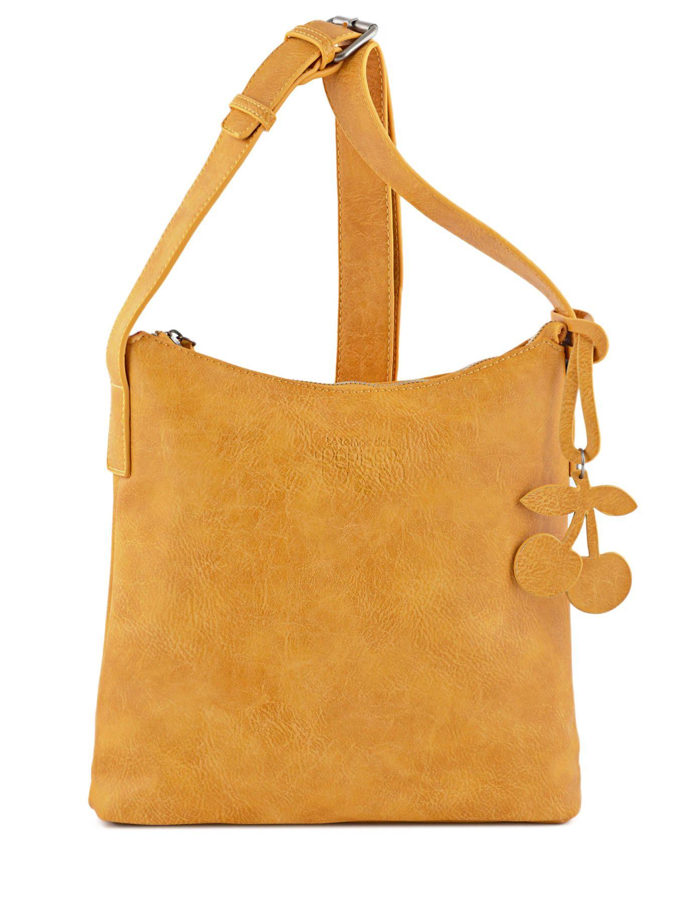 sac bandouli re phoenix le temps des cerises jaune moutarde 807 0ltc3v09 sac pinterest sac. Black Bedroom Furniture Sets. Home Design Ideas
