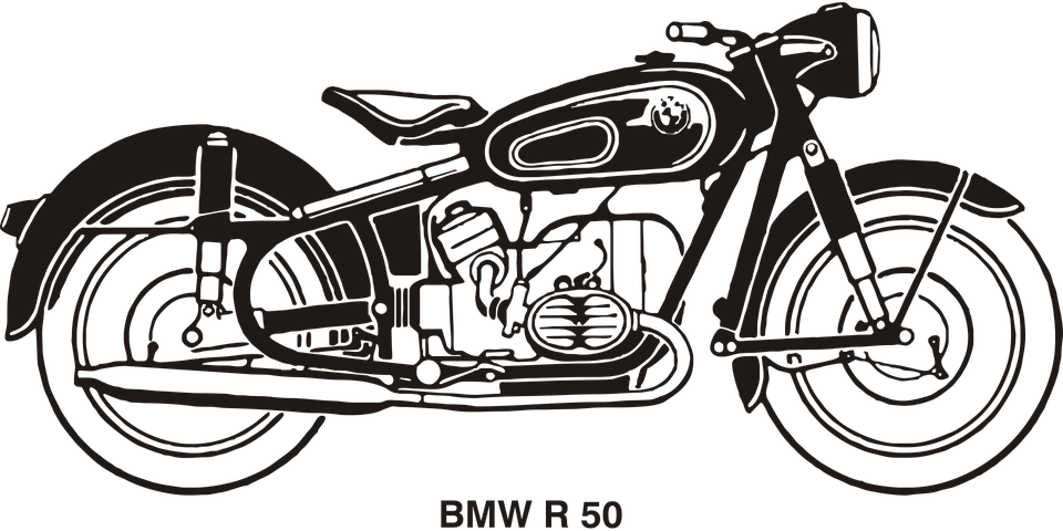 BMW R50 Motorcycle Got Coloring Pages Bmw motorcycles