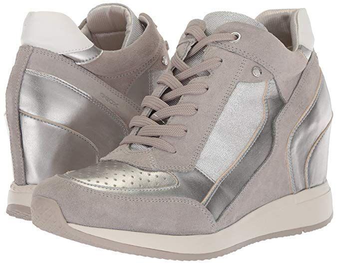 Geox Damen D Nydame A Hohe Sneaker: : Schuhe