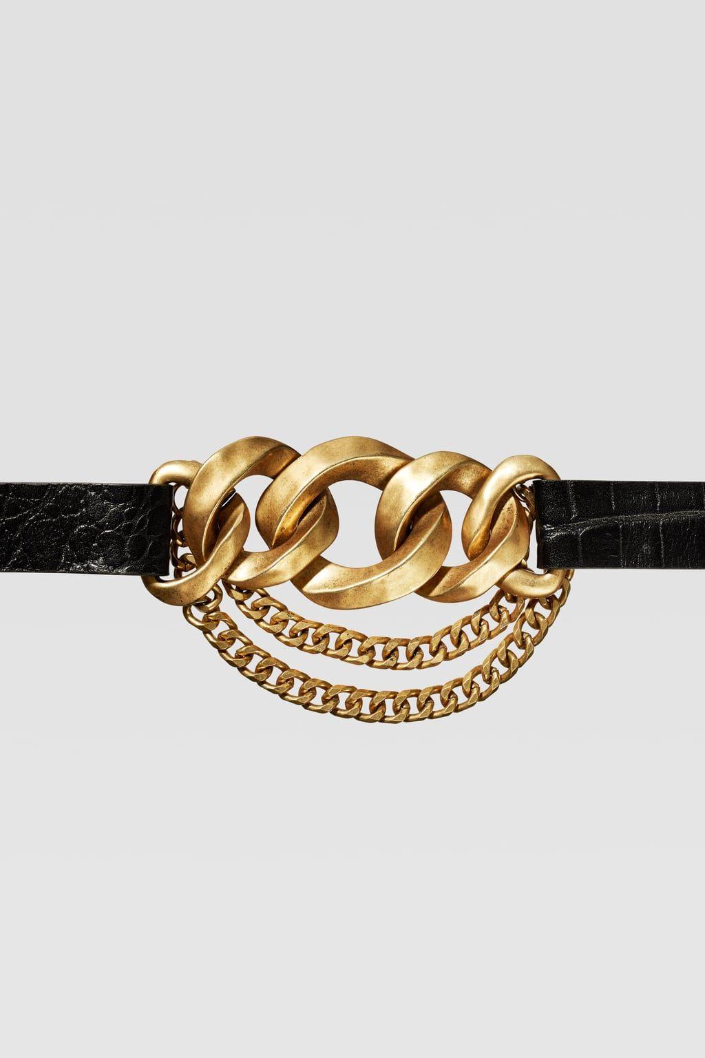 Chain Belts Kemer Tokasi Kemer Zara