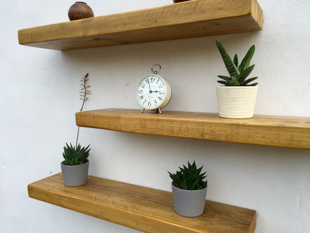 7 Stupefying Diy Ideas Long Floating Shelves Rustic Staggered
