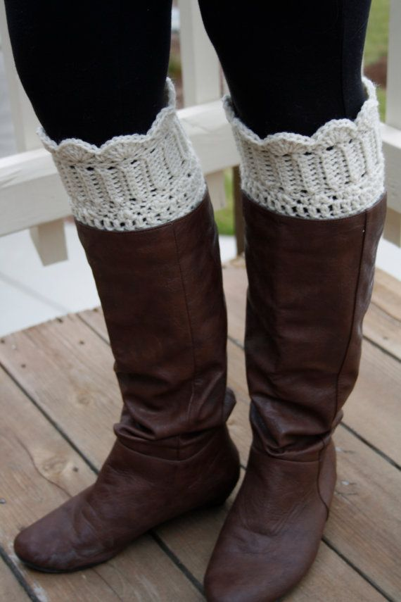 Crochet Boot Cuff. Boot Cuffs. Lace Boot Cuff. Boot Topper.Boot ...