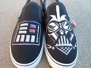 e3ef5b9439a5a The Toothy Shoehorn: Star Wars Shoes- Made from Vans, I so want a ...