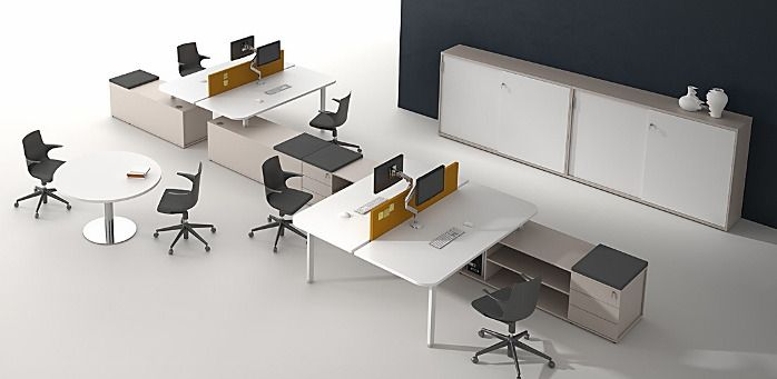 Alea Desking Reception Conference Furniture Contemporary