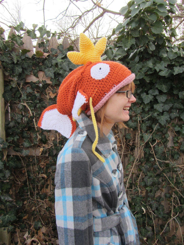 Made to Order - Magikarp Pokemon Crochet Hat. $70.00, via Etsy ...