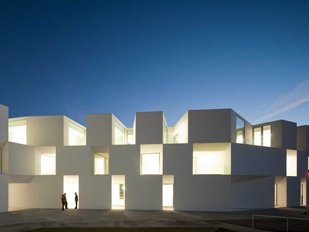 BEST HEALTHCARE ARCHITECTURE: Alcácer do Sal Residences, a hotel/hospital in Alcacer do Sal, Portugal.