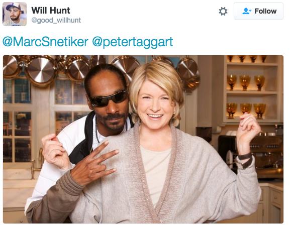 Snoop Dogg and Martha Stewart Snoop dogg, Martha stewart
