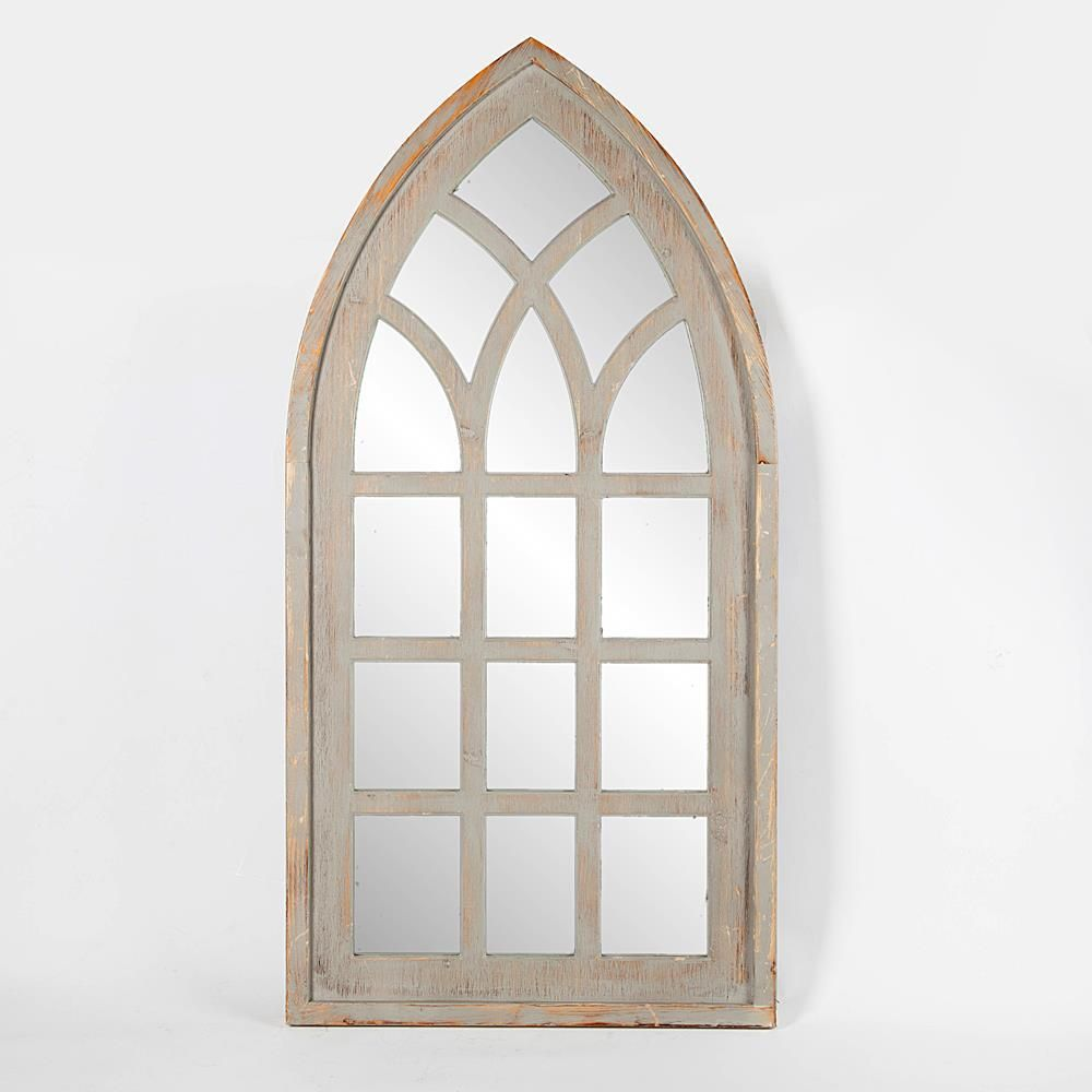 Winsome House Cathedral Window Decorative Wall Mirror Cathedral