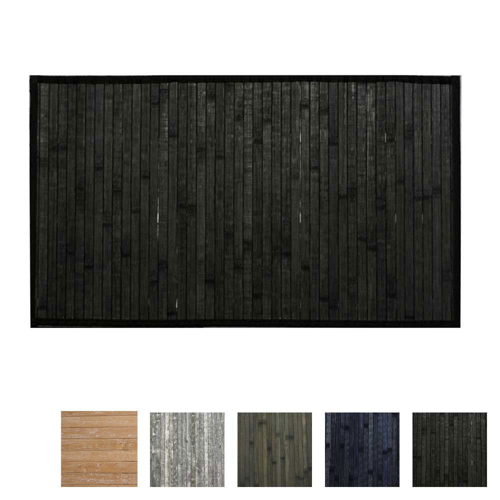 Hotel Bamboo Floor Mat Hotel Bamboo Mat 24 X 36 Black