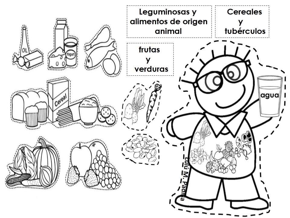 Fabulosa Lapbook De La Alimentacion Variada Material Educativo Alimentacion Para Ninos Alimentacion Saludable Para Ninos Alimentacion