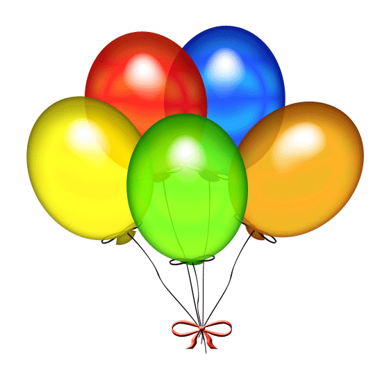 Birthday Balloons Clip Art Free: Pin By Ranee L. On Digital Clip Art/Misc.