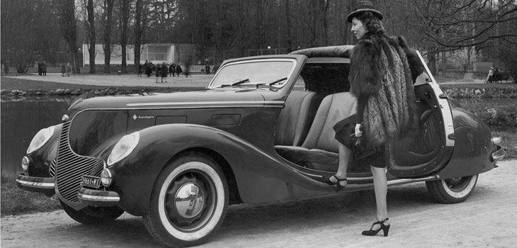1938 LANCIA APRILIA 1350 CABRIOLET - Commission by Carrozzeria Touring Superleggera of Milan.