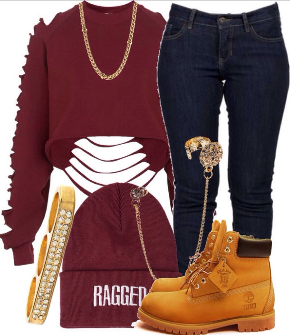 e7c30995b 22 Cute Outfits to Wear with Timberland Boots For Girls | Clothes ...
