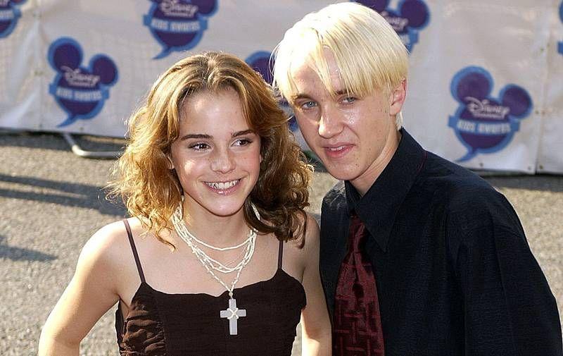 Harry Potter Sind Emma Watson Und Tom Felton Ein Paar Das Spricht Dafur Tom Felton Emma Watson Draco Malfoy