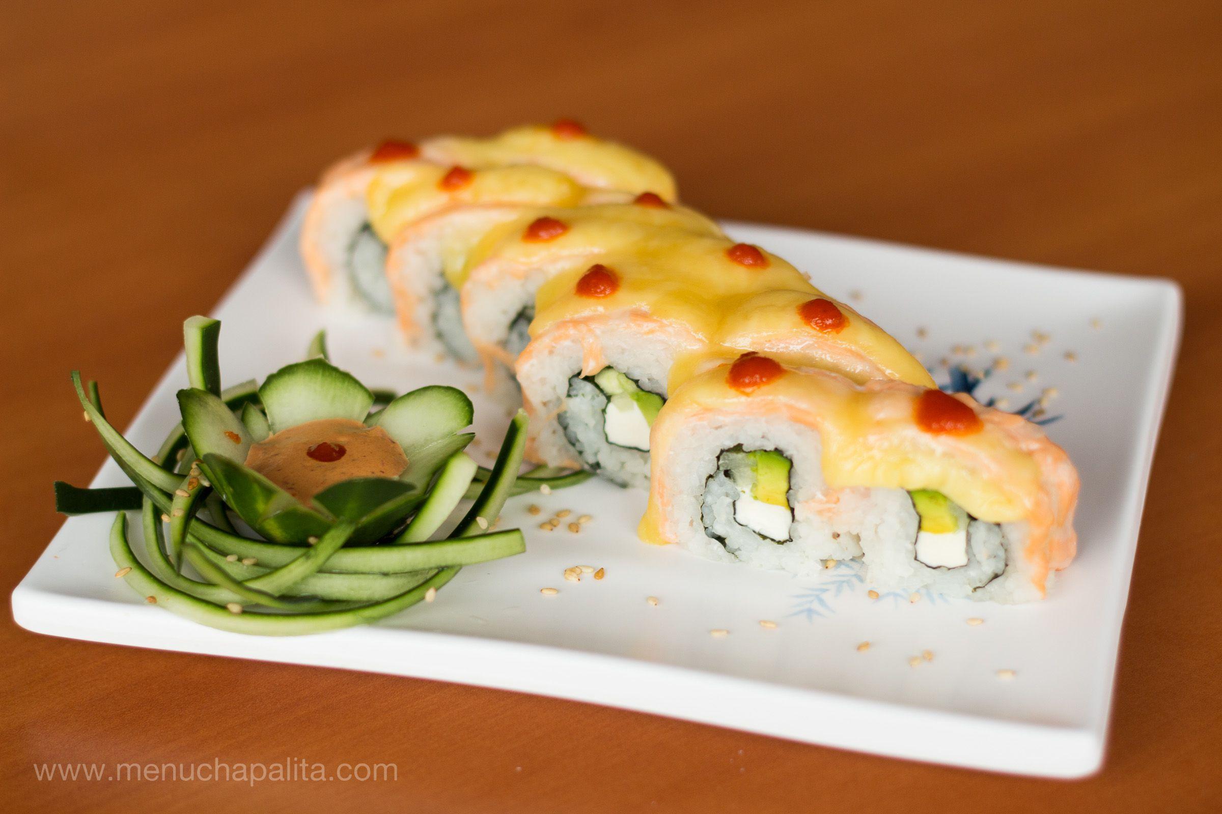 Pin De Menu Chapalita En Sushi Comida Comida Oriental Y Sushi