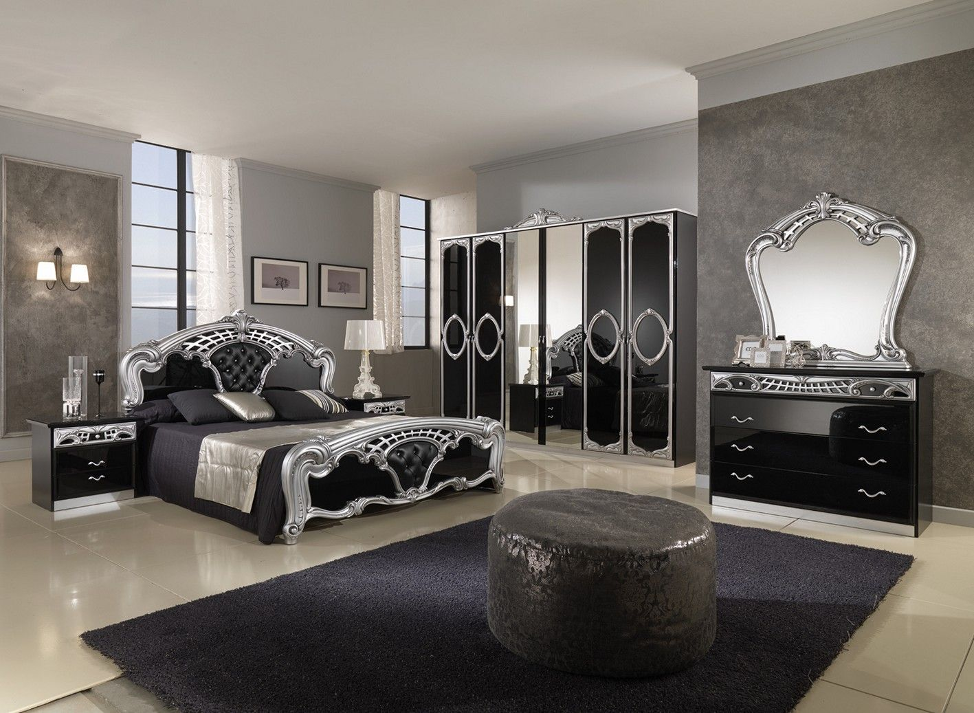Decorating Bedroom With Gothic Furniture Excelsior Set Collection Request Free Quote