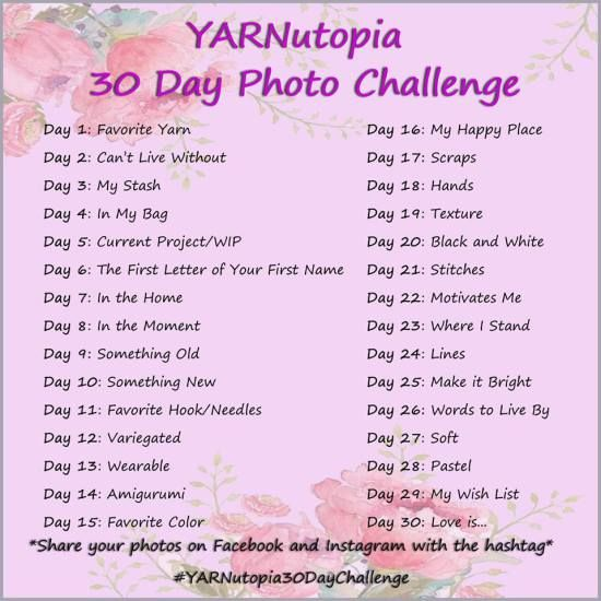 YARNutopia 30 Day Photo Challenge - YARNutopia by Nadia Fuad
