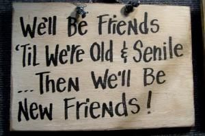 Right on....new friends