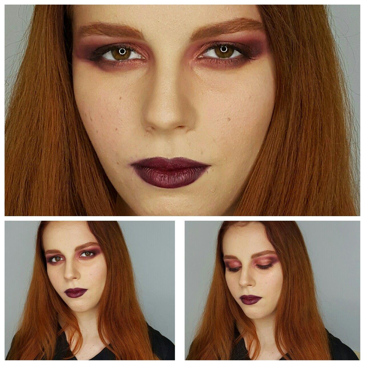PASARELA  She Melissa Gala  #runway #makeup #beauty #kryolan #fashion #shine #borravino #cobre #contouring #intense #night