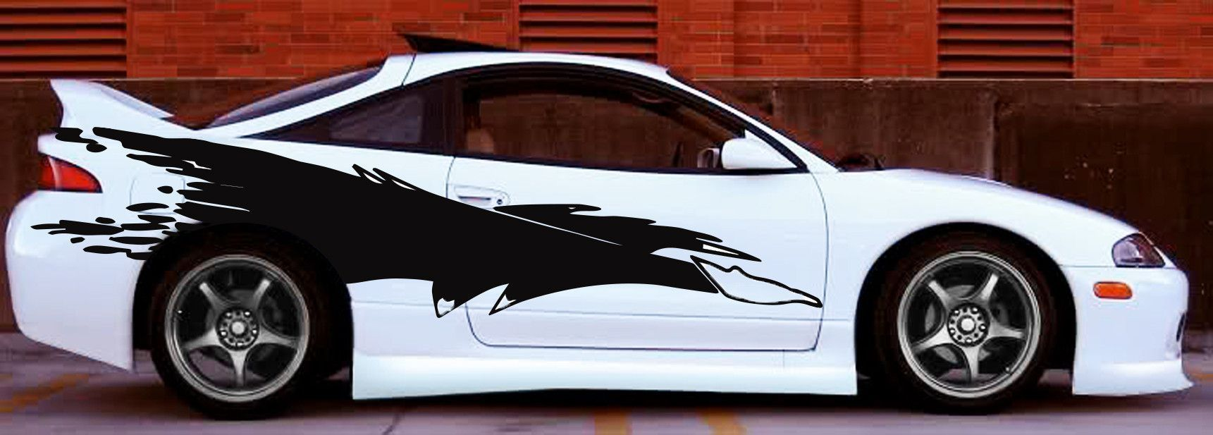 Bon Mitsubishi Eclipse Fast And Furious Side Graphics