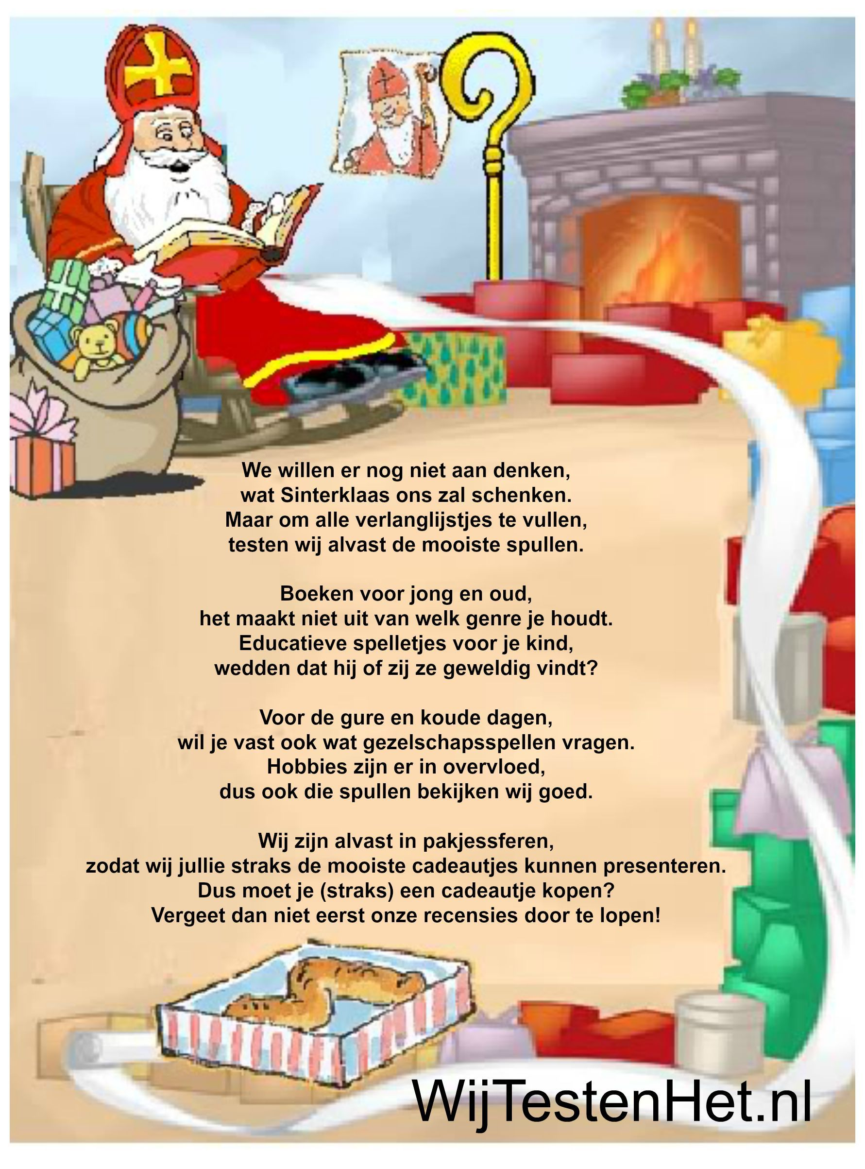 Sinterklaas inkopen doen? Hier vindt je veel cadeau tips!
