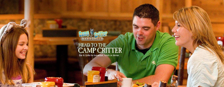 Camp Critter Bar Grille At Great Wolf Lodge Mason Ohio Good