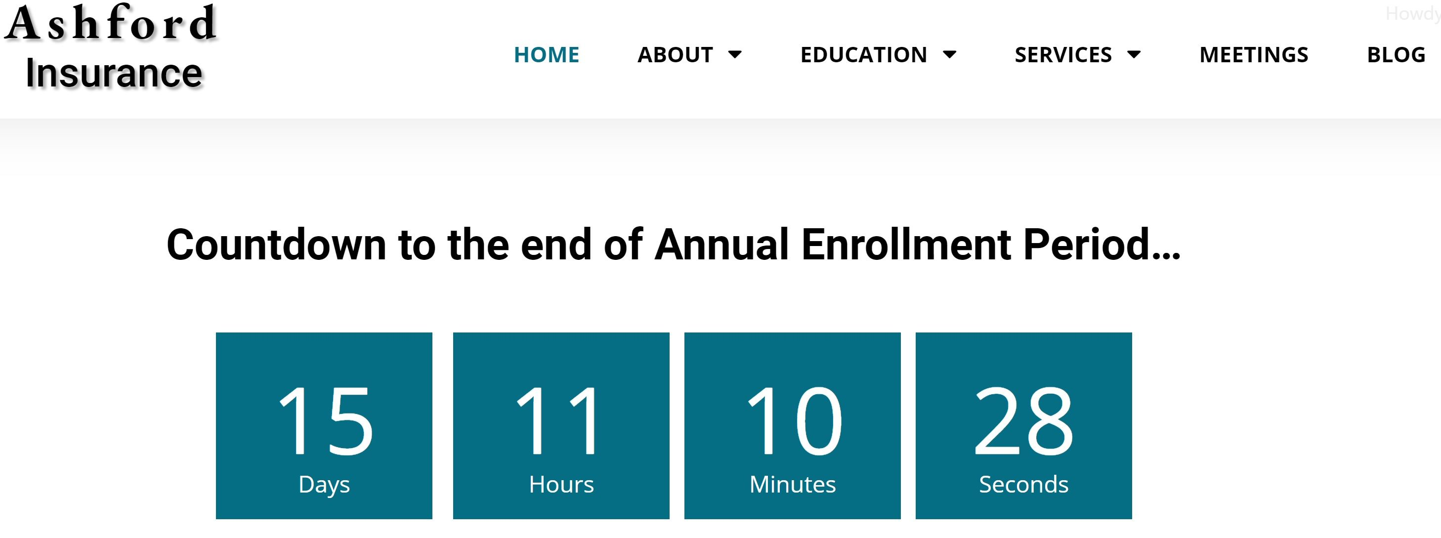 Time For The Medicare Annual Enrollment Period Is Running Out