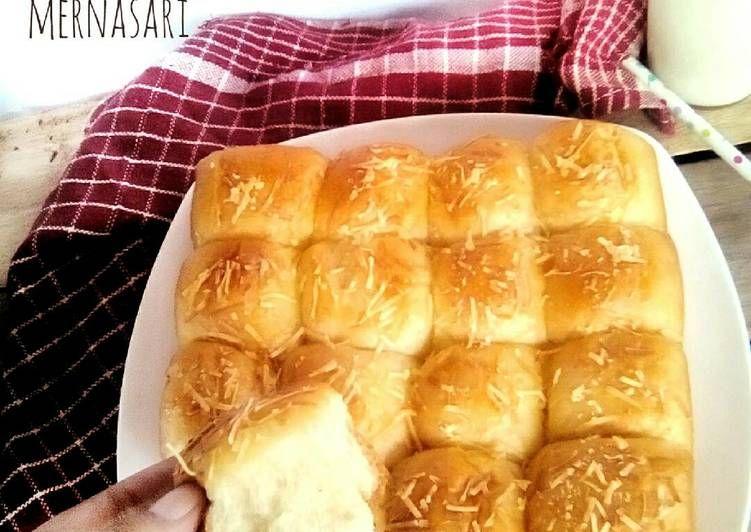 Resep Roti Sobek Isi Keju Tanpa Telur Oleh Dapur Mba Mer A Ka Merna Kitchen Resep Keju Resep Roti Aneka Roti