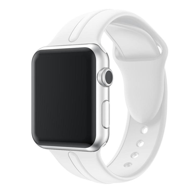 Apple Watch Band, sport, silicone, duocolors in 2020