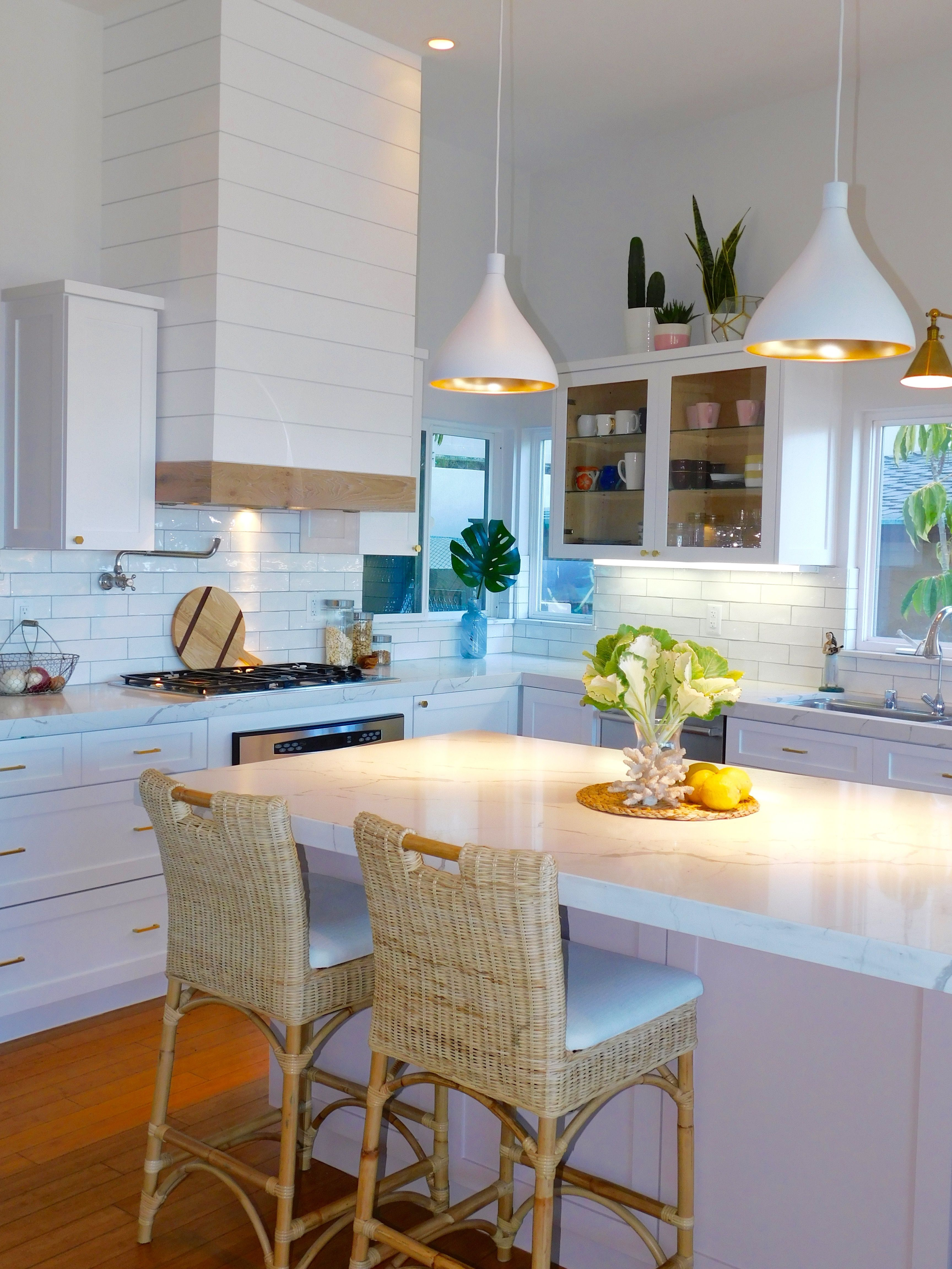 South Laguna Blush Kitchen Reveal New kitchen