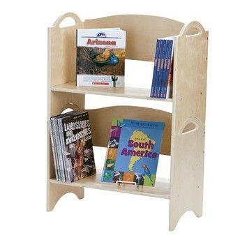 Guidecraft Stacking Bookshelves