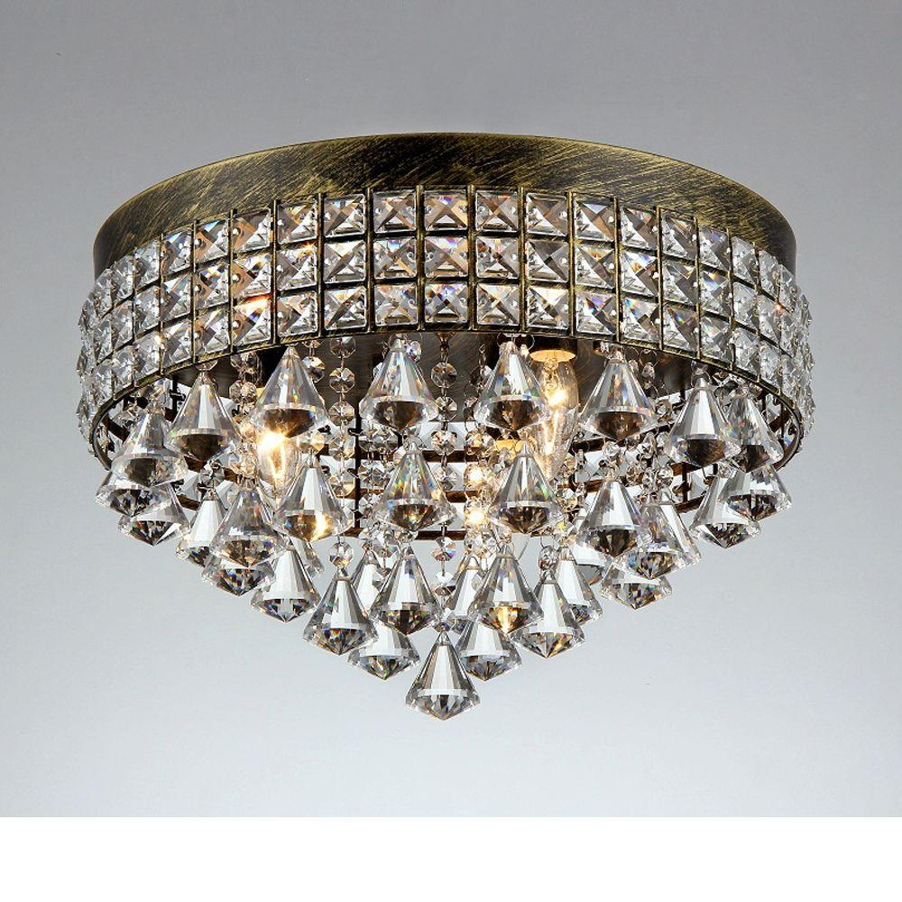 Unbranded Melly 3 Light Bronze Indoor Crystal Chandelier With Shade X66093 The Home Depot Warehouse Of Tiffany Chandelier Shades Chandelier