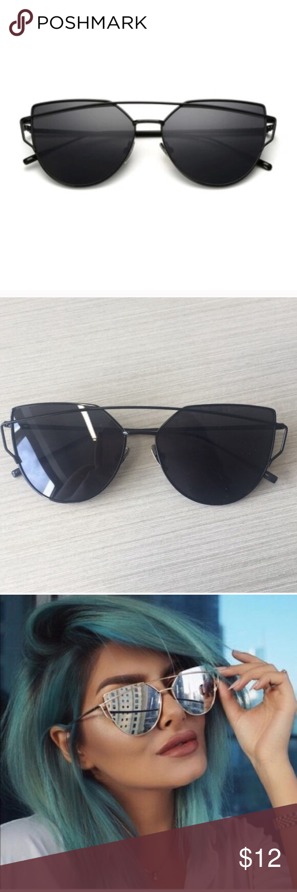 Black sunglasses Great condition Accessories Sunglasses