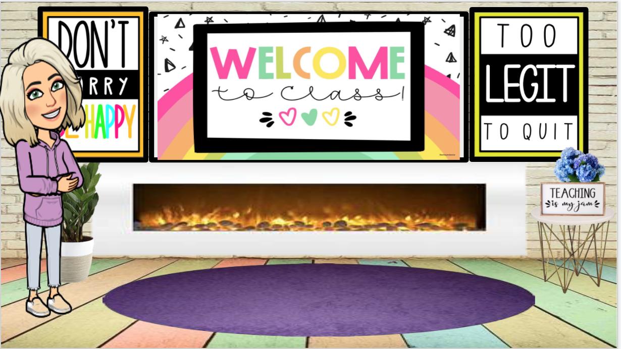 Google Virtual Bitmoji Classroom Editable Virtual Classrooms Teacher Planning Physical Education Teacher