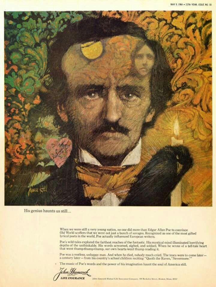 John hancock 1924 illustration artwork painting