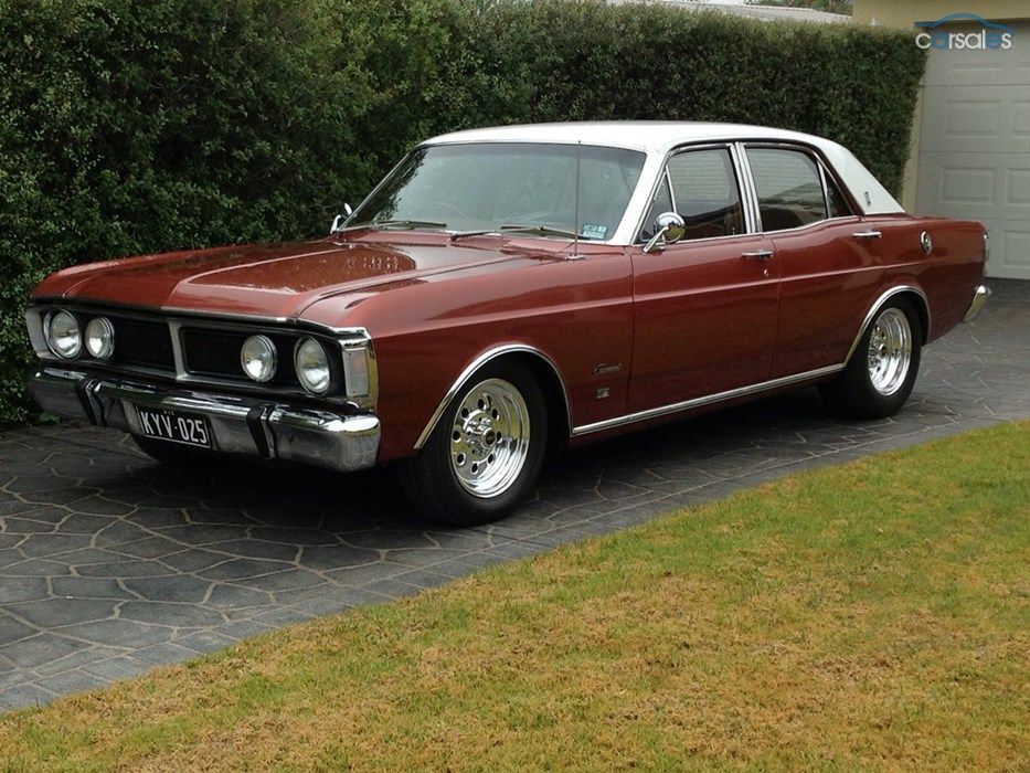 1971 Ford Fairmont XY Maintenance/restoration of old