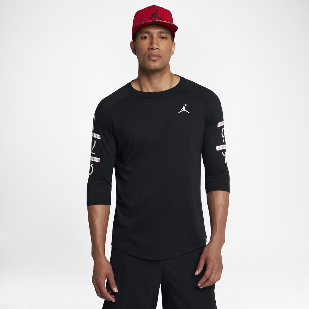 4fa58887066 Jordan 6 Times Raglan Men's 3/4 Sleeve T-Shirt, by Nike Size ...