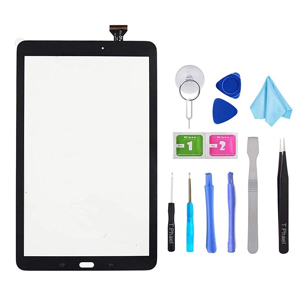 Tools Black LCD Display Assembly Compatible with Samsung Galaxy Tab A 10.1 2016 SM-T580 T585 T587 Touch Screen Digitizer