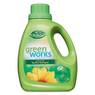 Green Works Liquid Laundry Detergent 90oz Bottle Laundry