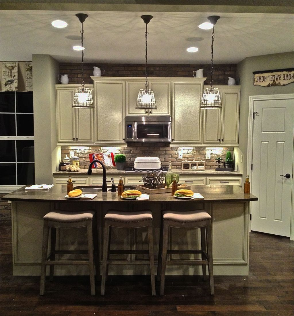 Hanging Kitchen Lights Over Island: Kitchen Island Pendant Lighting Pendant Lighting For