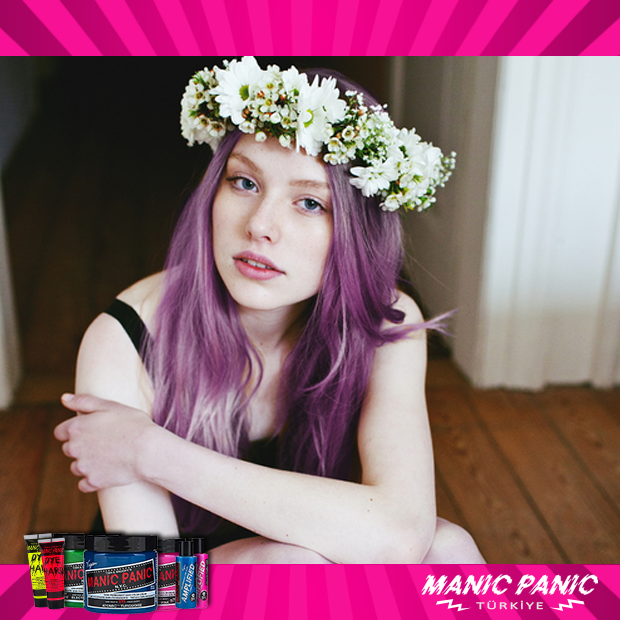 #suicide #girl #hair #color #purple #manicpanic