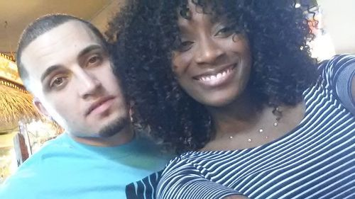 A Black Woman  & Latino Man <3 Maybe I'll find mine 1 day